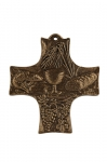 Cross No. 402 of real bronze material