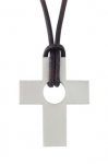 Stainless Steel Cross Pendant No. 1003