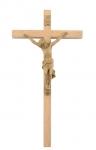 Holzkreuz Nr. 762, Eiche hell Corpus Kunststoff