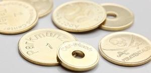Monedas de aparcamiento