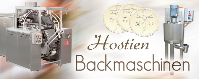 Hostien-Backmaschinen