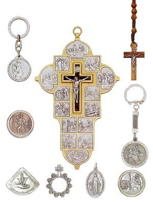 Beispiele für religiöse Devotionalien